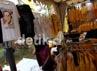 Selain itu aksesoris, mulai dari kaos, topi, jas berwarna kuning juga ikut mejeng di sekitar area lokasi pelaksanaan Rapimnas.