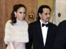 Jennifer Lopez dan Marc Anthony menghadiri pesta pernikahan Tom dan Kate. Robert Evans/Getty Images.