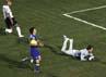 Corinthians menjadi juaranya setelah mengalahkan Boca Juniors 2-0 (agregat 3-1) di final leg kedua yang berakhir Kamis (5/7/2012) pagi WIB. REUTERS/Paulo Whitaker.