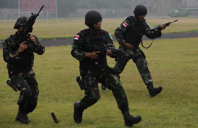 6 Prajurit Kopassus Penembak Terbaik di China