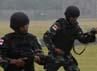 6 orang sebagai penembak pistol terbaik dari Kopassus TNI AD yaitu : Serka Muhammad Nun, Serka Safril, Sertu Lantik Ikhsan, Serda Balubun, Praka Mulyadi dan Prada Rohman Sidik. (Lettu Inf Imam Mahmud)