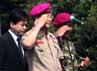 Kunjungan tersebut dalam rangka mempererat hubungan kedua negara.