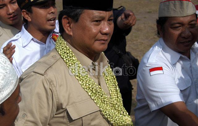 Prabowo Bicara Kemenangan Jokowi