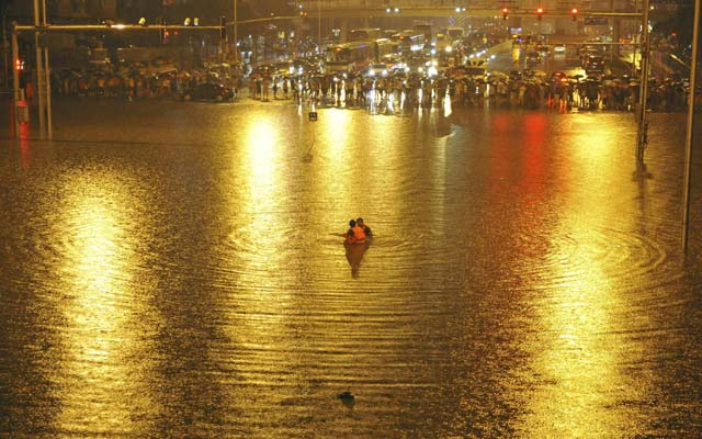 Banjir Besar Landa Beijing
