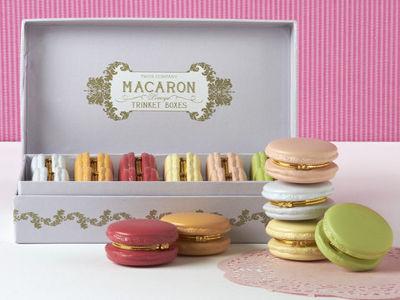 Cantiknya Kotak Cincin Bentuk Macaron