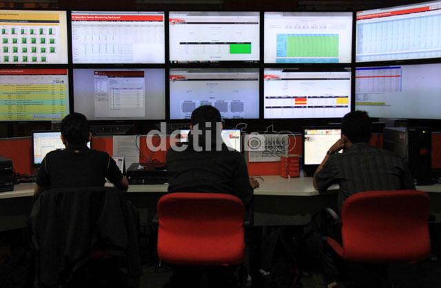Di Sini, Lalu-lintas Data Telkomsel Dikendalikan