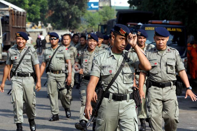 Polisi Redam Aksi Blokir Tol Jatibening
