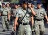 Personel Brimob dari Polda Metro Jaya diterjunkan ke lokasi.