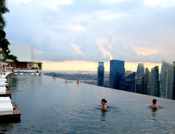 Ini Dia 5 Rooftop Pool Paling Unik Di Dunia