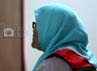Afriyani Susanti mendengarkan pembacaan tuntutan yang dibacakan JPU Soimah.