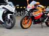 Saingan alami Ninja 250, Honda CBR250R bersanding di Sentul. Syubhan Akib/detikOto.