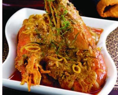 Resep Seafood Rendang Udang Galah