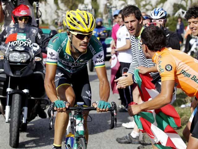 Piedra Jadi Raja Tanjakan di Etape 15 Tour of Spain