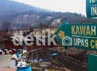 Sejak berstatus waspada, kawasan Taman Wisata Alam (TWA) Tangkuban Parahu ditutup untuk umum. Djuli Pamungkas/detikBandung.