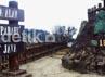 Tidak terlihat wisatawan seperti hari-hari biasanya. kawasan Taman Wisata Alam (TWA) Tangkuban Parahu tampak sepi. Djuli Pamungkas/detikBandung.