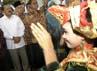 Foke disambut tarian adat. (dok Muhammadiyah)
