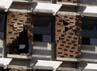Dinding Rumah Sakit Monsenor Sanabria retak. Reuters/Juan Carlos Ulate.