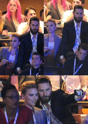 Mesra Gandengan Tangan, Scarlett Johansson & Jared Leto Digosipin Pacaran Lagi
