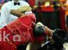 Meski para atlet wushu shansao bertarung dengan sengit dan keras, mereka tetap menjunjung tinggi sportifitas dan fairplay dalam bertanding.