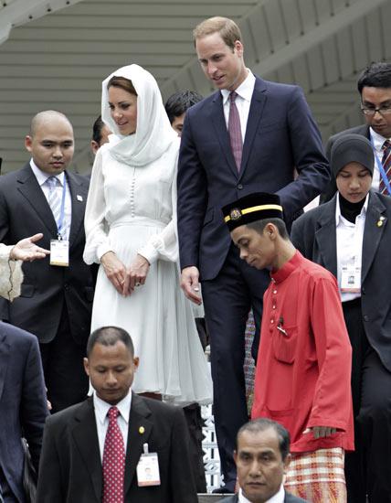 Kate Middleton Berkerudung di Malaysia