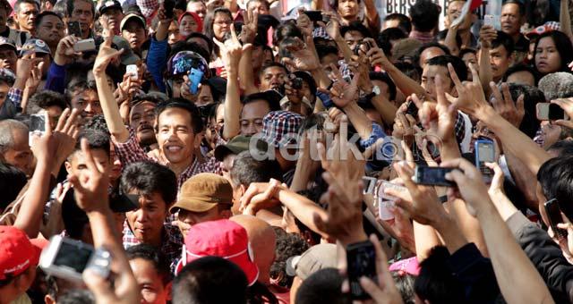 Kampanye Terakhir Jokowi Gegap-gempita