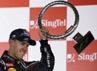 Pebalap Red Bull yang berstatus sebagai juara bertahan itu pun mengantongi kemenangannya yang kedua di musim ini, setelah di seri ketiga di Bahrain. REUTERS/Edgar Su.