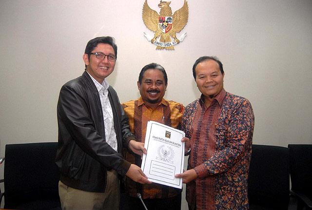 Serah Terima Jabatan Ketua Fraksi PKS