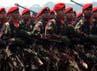 Gladi bersih peringatan HUT ke-67 TNI dimulai pukul 08.00 WIB.