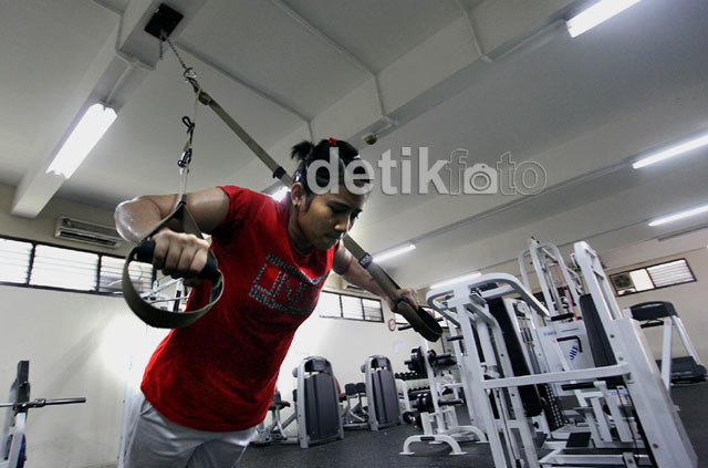 Disinilah Atlet Pelatnas Berlatih Fisik