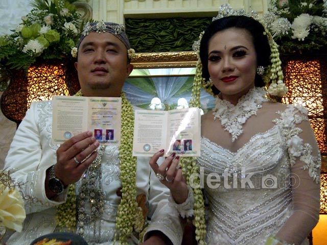 Puri Mahadewi Resmi Menikah di Sukabumi