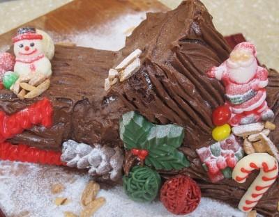Resep Cake: Mocha Buche de Noel