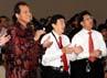 Chairul Tanjung mengucapkan selamat hari Natal kepada seluruh karyawannya yang beragama Kristen dan Katolik.