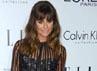 Lea Michele tampak seksi dibalut dress lace hitam menerawang Zimmerman dan sepatu suede 'Lorrina' B Brian Atwood. Frazer Harrison/Getty Images.