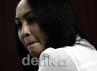 Angelina Sondakh juga denda 250 juta dan subsider 6 bulan penjara. Ramses/detikFoto.