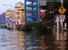 Banjir merendam kawasan Pluit.