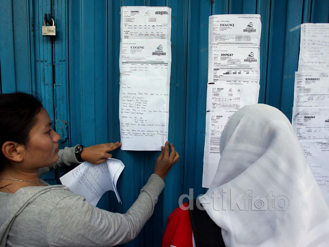 Penumpang Batavia Air Tempelkan Surat Tuntutan