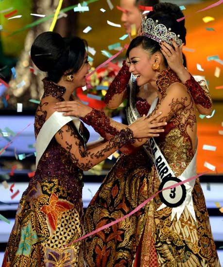 Whulandary Herman, Puteri Indonesia 2013