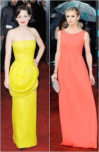 9 Busana Terbaik & Terburuk Seleb di BAFTA Awards 2013 1