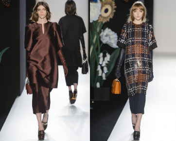 Rok Tumpuk dan Celana Jadi Tren Mulberry di London Fashion Week 2013