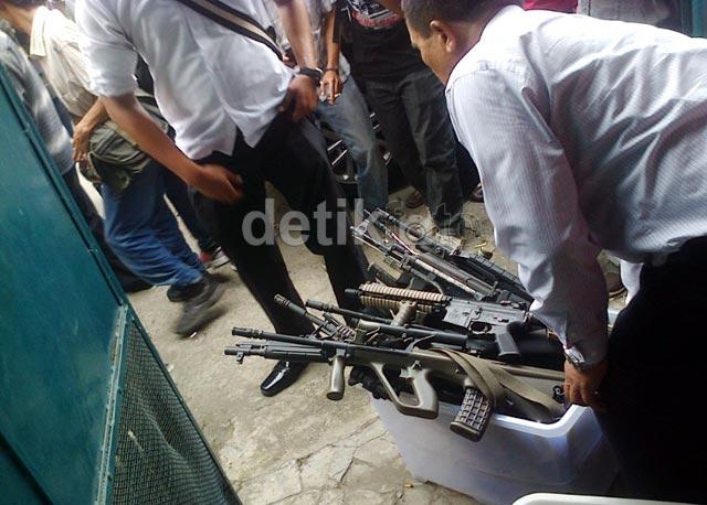 Polisi Amankan 31 Airsoft Gun