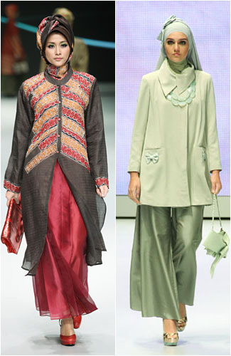 Foto: Inspirasi Busana Muslim dari 7 Desainer Indonesia 1