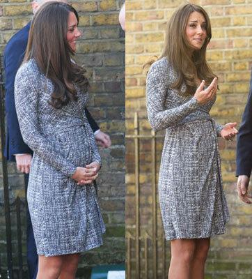 Kate Middleton Beli Baju Hamil di Topshop