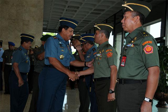 5 Pati TNI Naik Pangkat