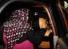 Sutiana meninggalkan gedung KPK. Ramses/detikFoto.
