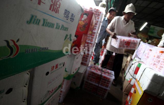 Buah Impor China Masih Kuasi Pasar Indonesia