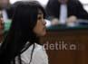Maharani ditangkap menyidik KPK saat sedang bersama Fathanah di kamar Hotel Lee Meredian. Lamhot Aritonang/detikFoto.