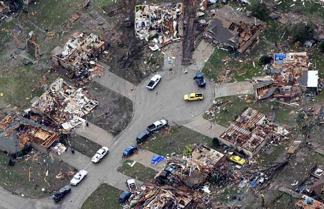 Tornado Porak-porandakan Oklahoma