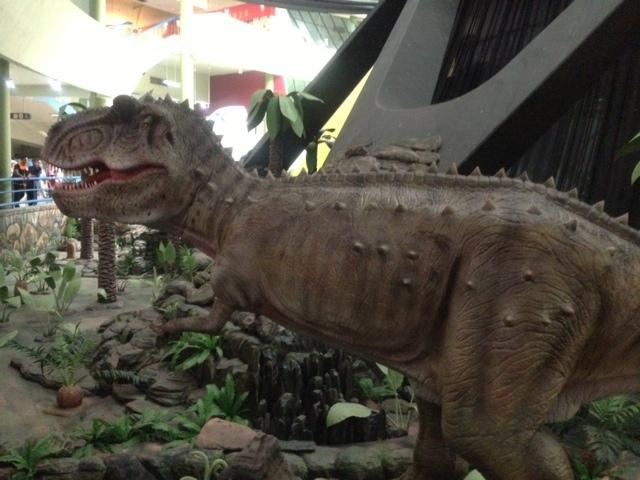 Akhir 2013 Tmii Akan Punya 3 Dinosaurus
