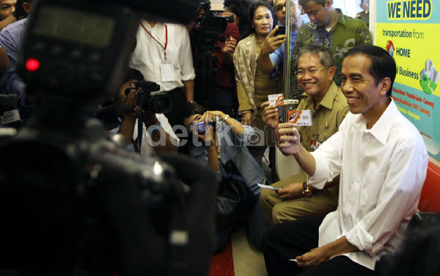 Jokowi Minta Monorel Digarap Secepatnya