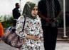 Syarifah Damiati Aida tiba di gedung KPK, Jl HR Rasuna Said, Jakarta. Lamhot Aritonang/detikFoto.